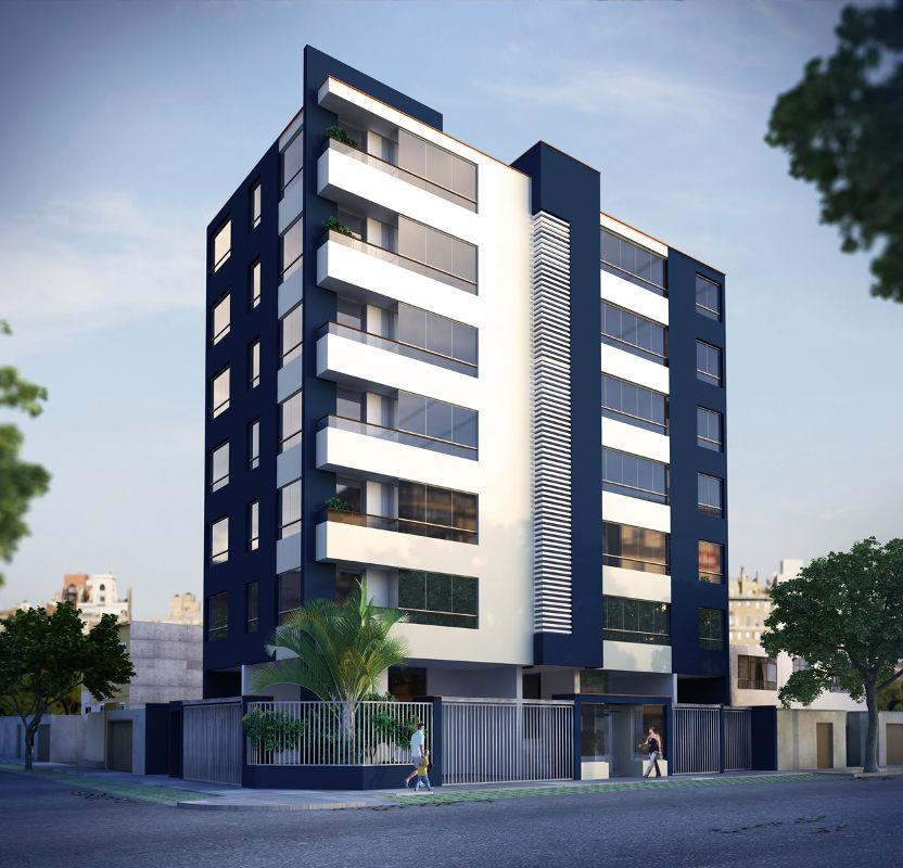 Inmobiliria prestigio residencial harrington for Edificios minimalistas